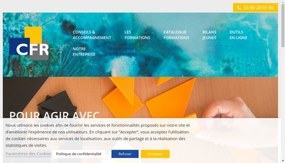 Site internet de Conseils Formations Relations Humaines