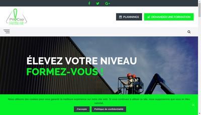 Site internet de Pilocap