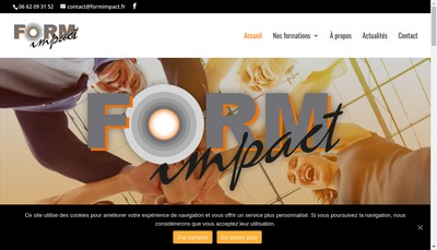 Site internet de Form'Impact