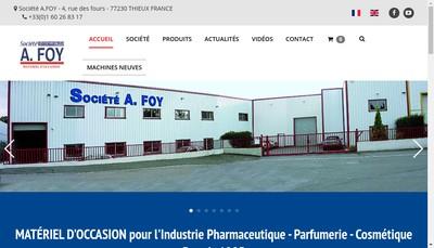 Site internet de Societe a Foy