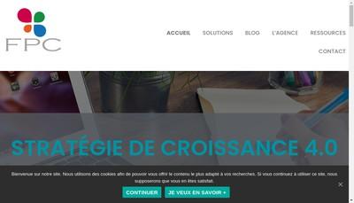 Site internet de Agence Fpc