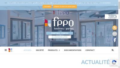 Site internet de Fenetres et Portes Pvc de l'Ouest