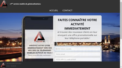 Site internet de Aproximeo