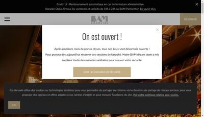 Site internet de Singtime