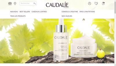 Site internet de Caudalie