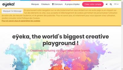 Site internet de Eyeka