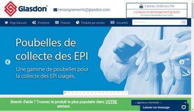 Site internet de Glasdon Europe