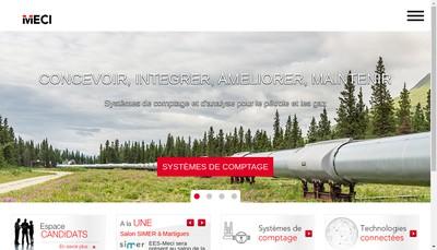 Site internet de Eiffage Energie Systemes - Meci