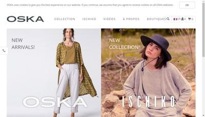 Site internet de Oska