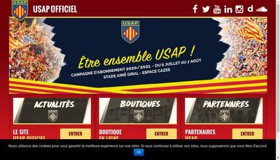 Site internet de Usap