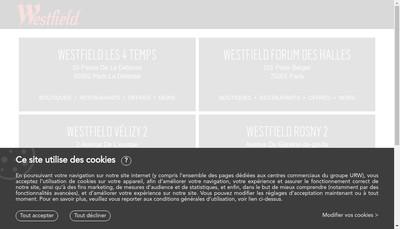 Site internet de GIE Rosny 2
