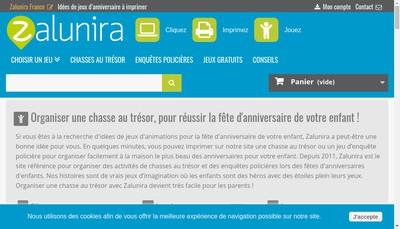 Site internet de Zalunira