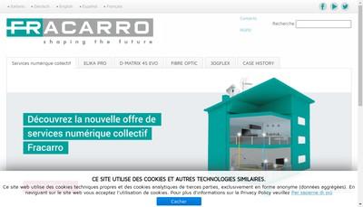 Site internet de Fracarro France