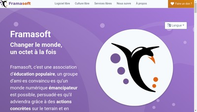 Site internet de Framasoft