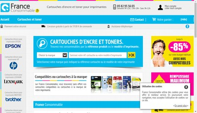 Site internet de France Consommable