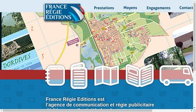 Site internet de France Regie Editions