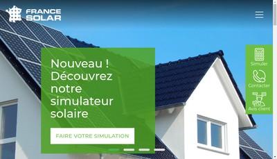 Site internet de France Solar