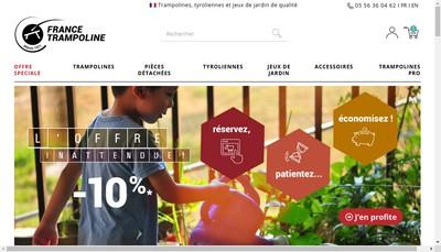 Site internet de France Trampoline