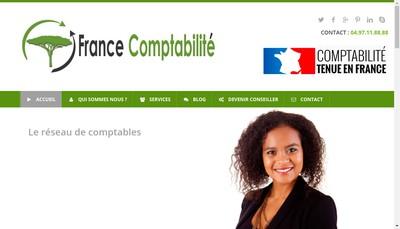 Site internet de France Comptabilite
