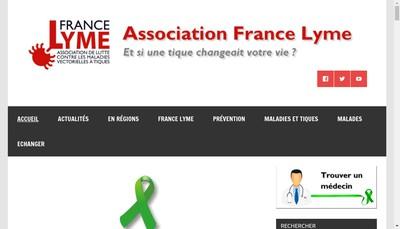 Site internet de France Lyme