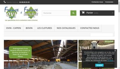 Site internet de France Ovi