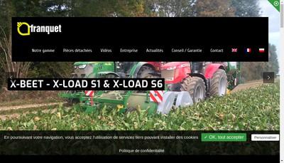 Site internet de Etablissements Franquet