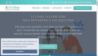 Site internet de Free Dom