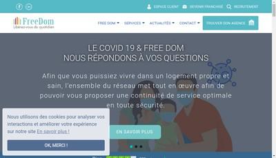 Site internet de Euro Dom Strasbourg