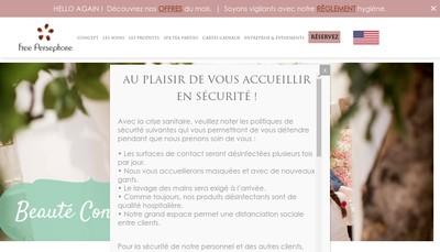 Site internet de Free Persephone