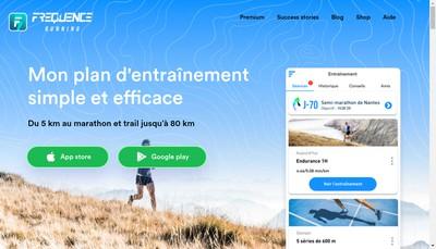 Site internet de Frequence Running