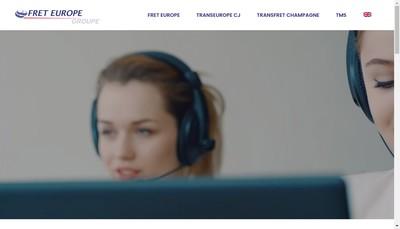 Site internet de Fret Europe