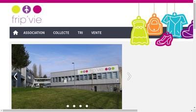 Site internet de Association Frip'Vie