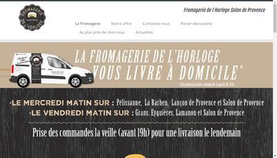 Site internet de Fromagerie de l'Horloge