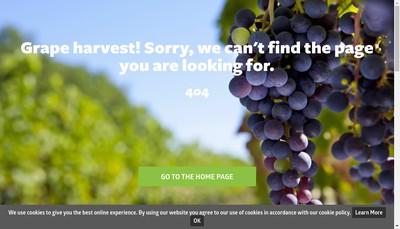 Site internet de Fruition Sciences
