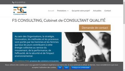 Site internet de Fs Consulting