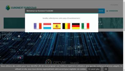 Site internet de Finance Web Working