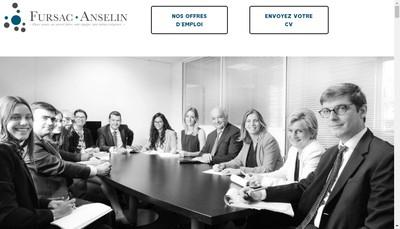 Site internet de Fursac Anselin et Associes