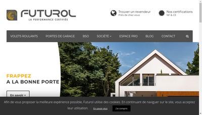 Site internet de Futurol