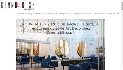 Site internet de Gamma Mg Bross, Cosmelane