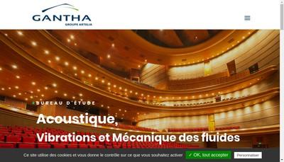 Site internet de Gantha