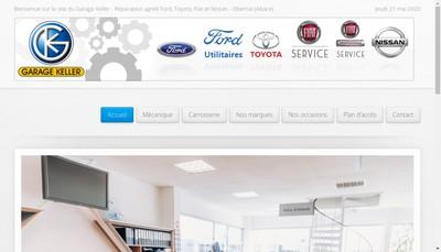 Site internet de Garage Keller