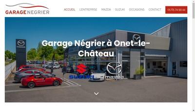 Site internet de Garage Negrier