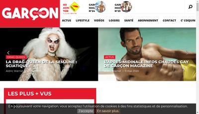 Site internet de Soret Christophe EURL