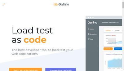 Site internet de Gatling Corp