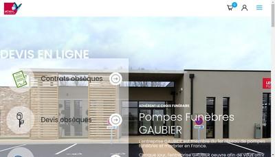 Site internet de Etablissements Gaubier
