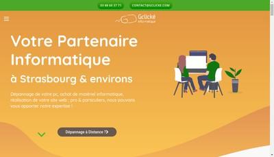Site internet de G Clicke