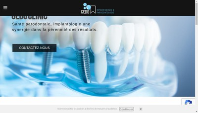 Site internet de Franck Hagege