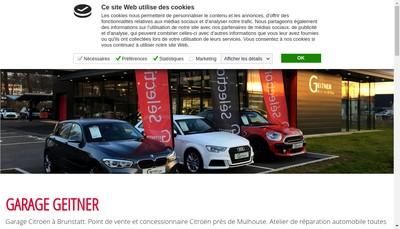 Site internet de Garage Geitner