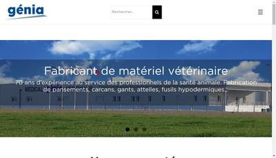 Site internet de Genia
