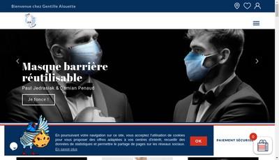 Site internet de Gentille Alouette